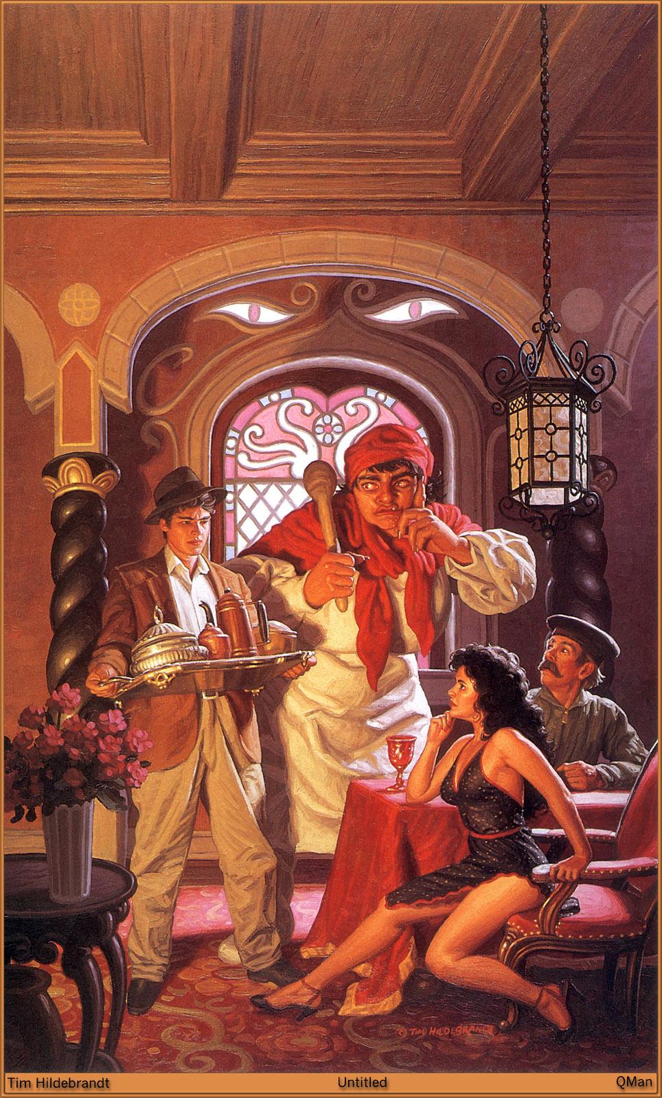 TIM HILDEBRANDT - The Fantasy Art Techniques