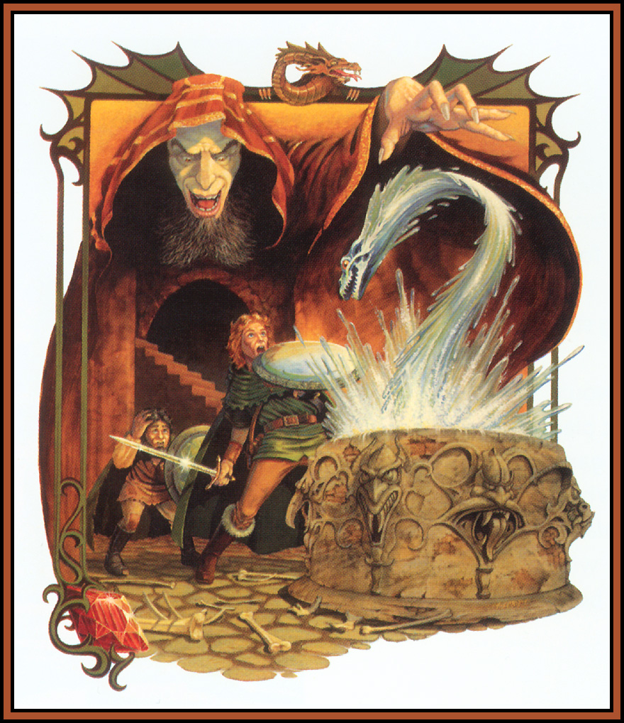 Book Cover Drawing Quest ~ Larry elmore