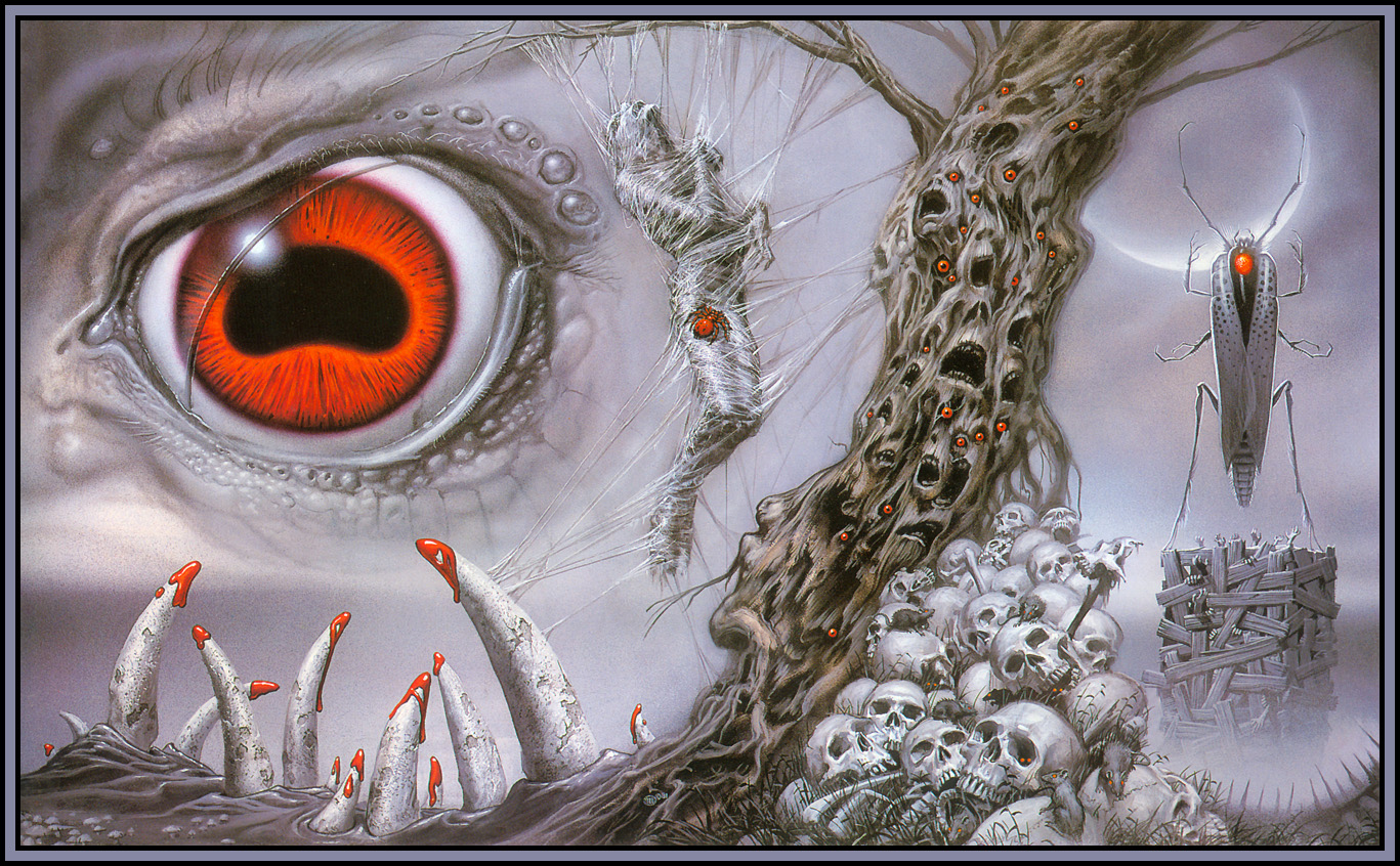 Michael Whelan's HP Lovecraft Panel 1